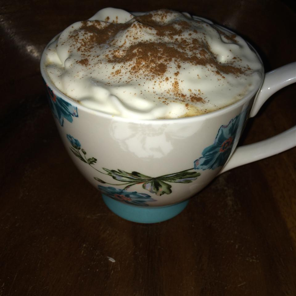 Famous No Coffee Pumpkin Latte JillianH54