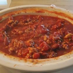 Slow Cooker Chicken and Sausage Chili TurnerInPgh