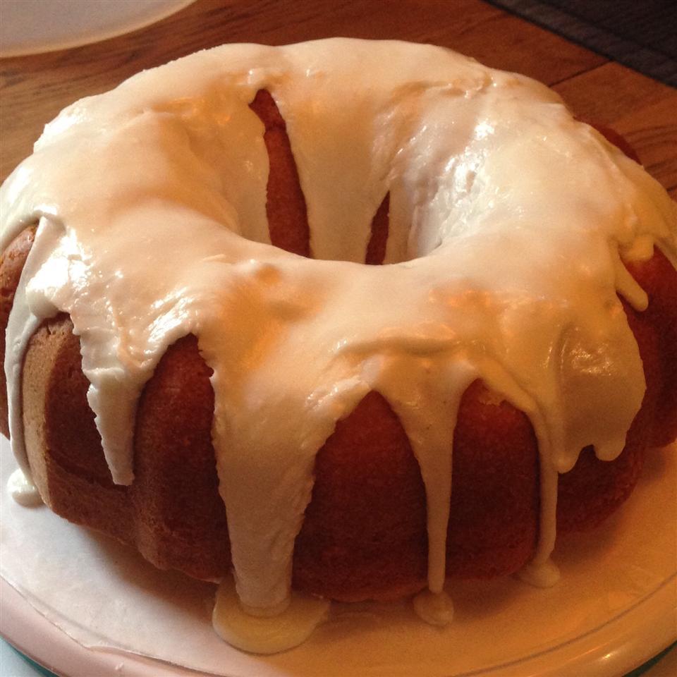 Lemon-Buttermilk Pound Cake with Aunt Evelyn's Lemon Glaze Aunt B