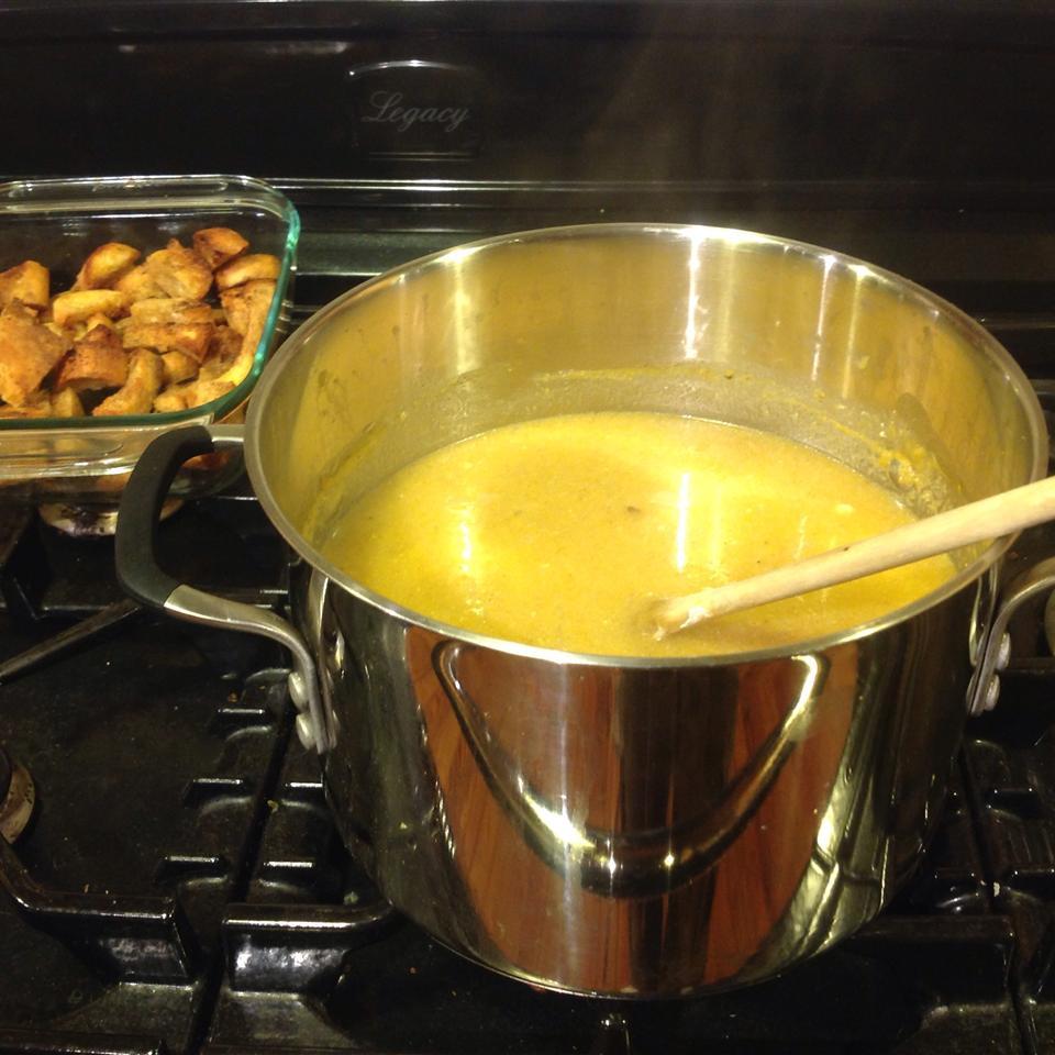Cream of Pumpkin Soup Cindy Boerner Lay