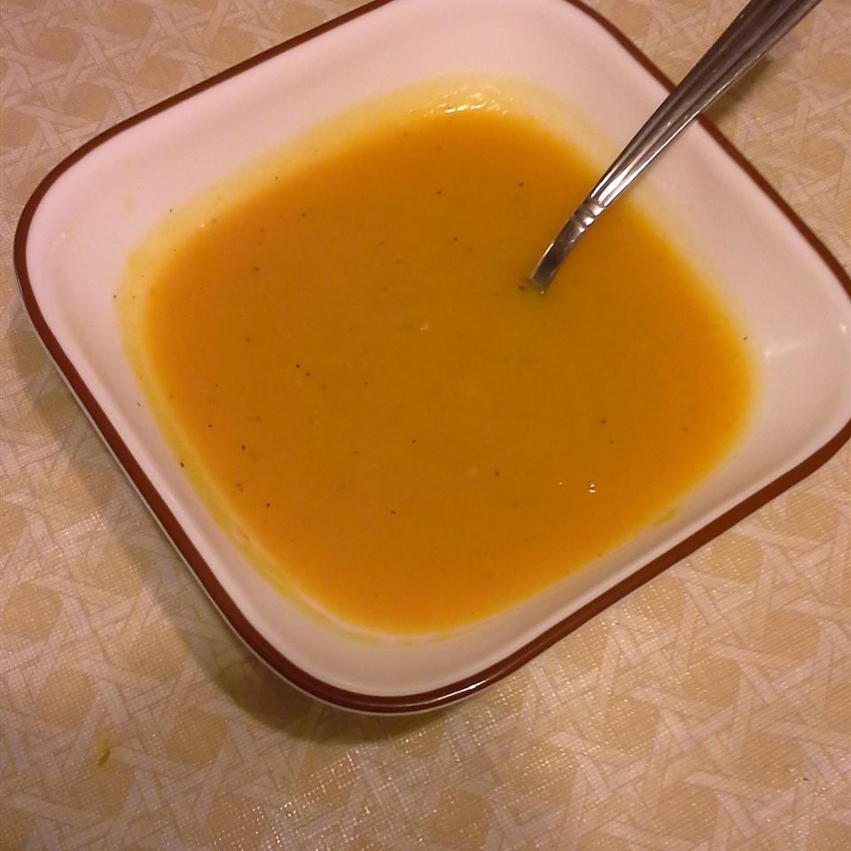 Butternut Squash Sweet Potato Soup
