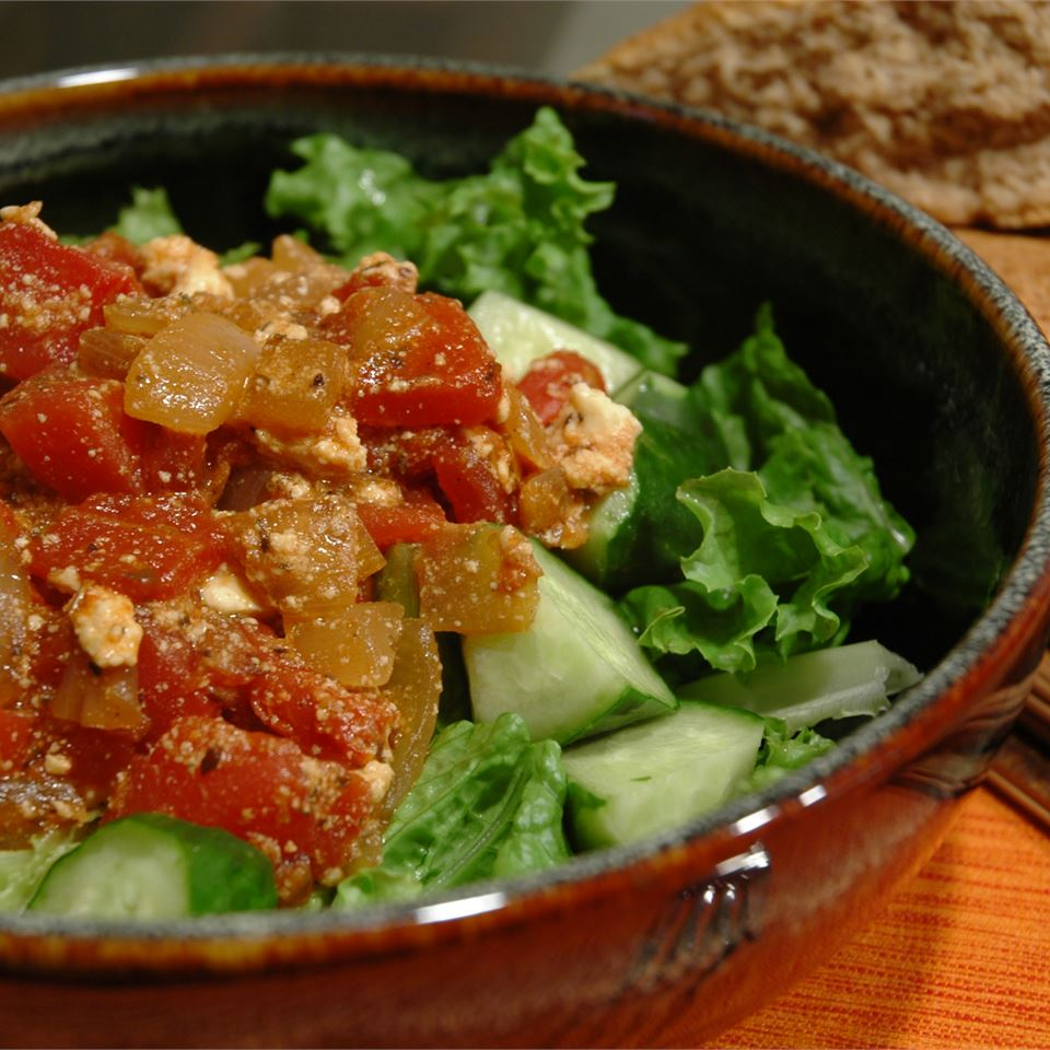 Chickpeas in Tomato Sauce With Feta and Wine Jennifer Rudnick