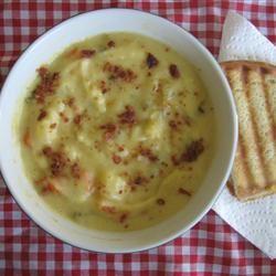 Garden Cheese Soup Stacey A.