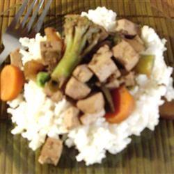 Wicked Garlic Tofu Saute