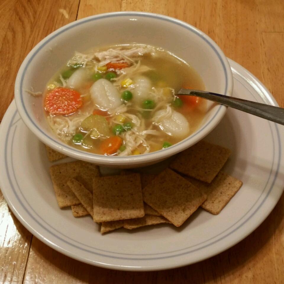 Easy Chicken and Gnocchi Soup Rhonda Smith
