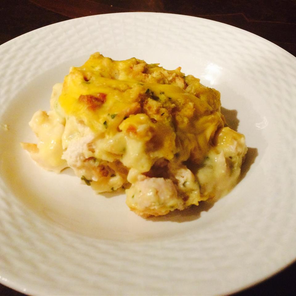 Chicken and Stuffing Casserole JoAnnaC