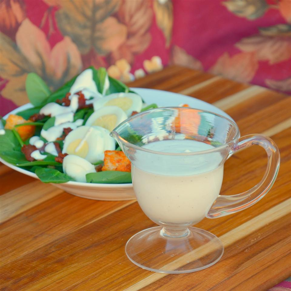 Cold Spinach Salad Dressing