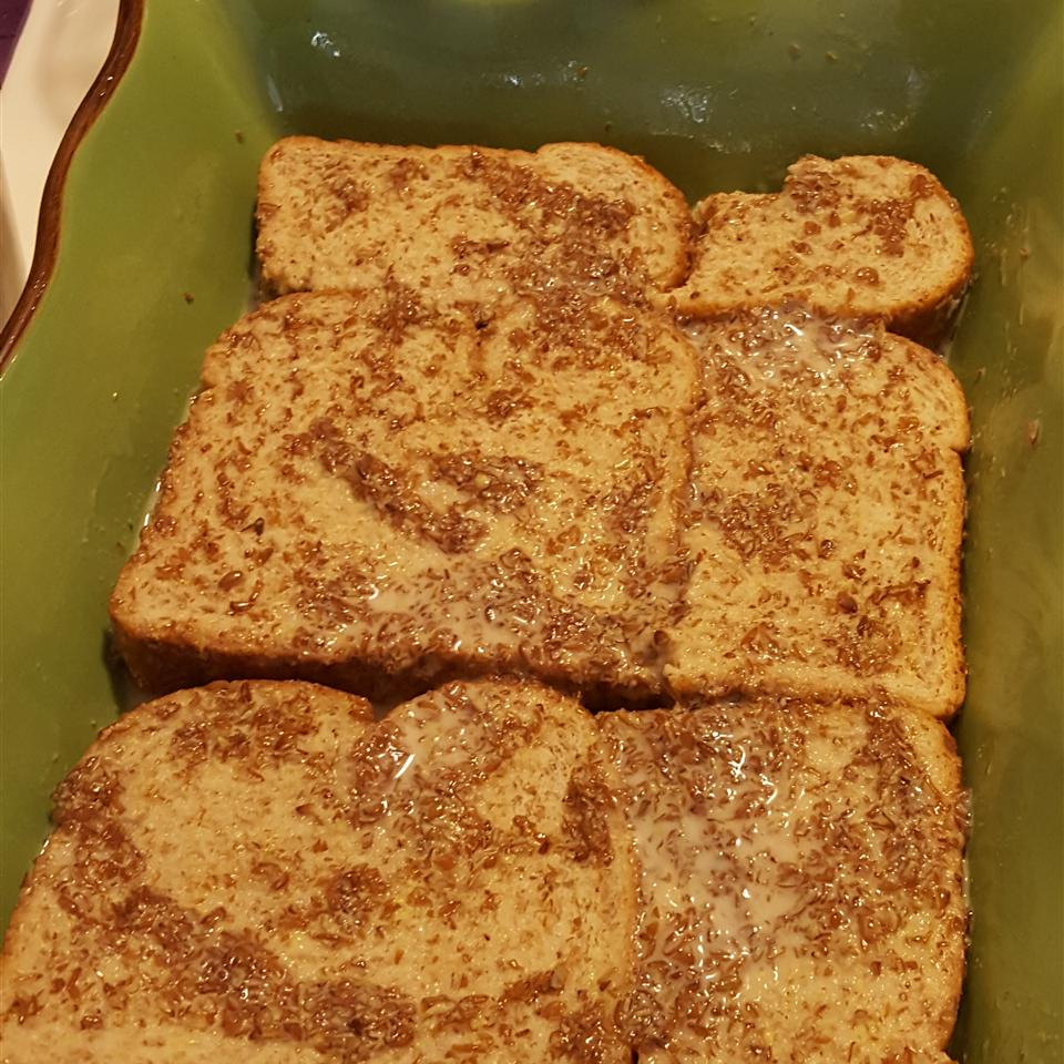 Baked Coconut French Toast