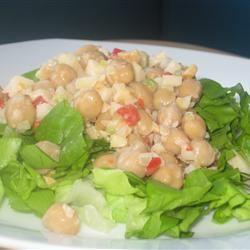 Garbanzo Bean Salad Fit&Healthy Mom