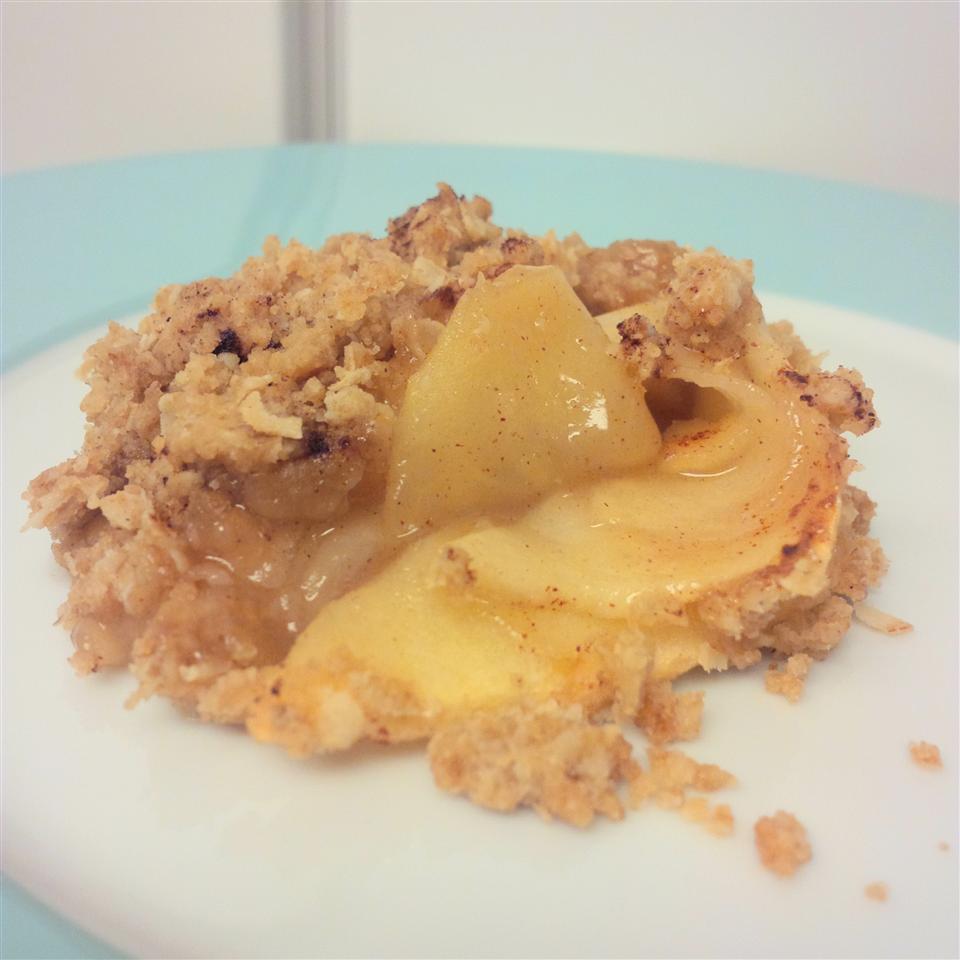 Apple Maple Crumble Pie habbyhippo