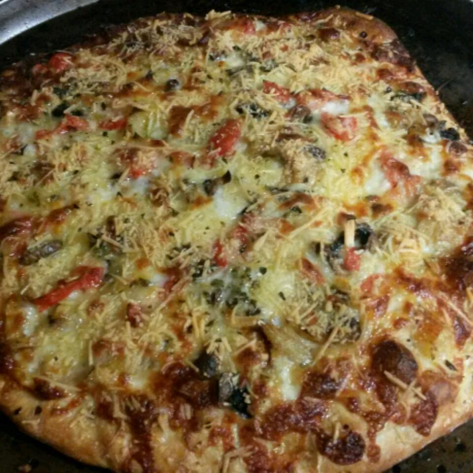 Crab-Artichoke Pizza Laurie
