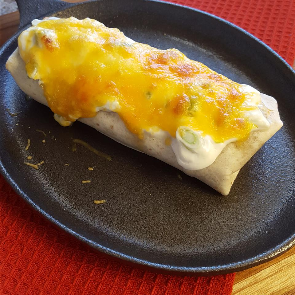 Smothered Burritos Baking Nana