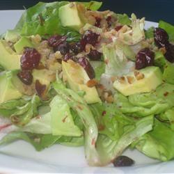 Wonderful Raspberry Walnut Dinner Salad Fit&Healthy Mom