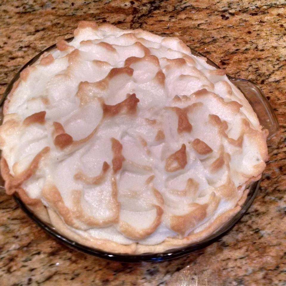 Grandaddy's Sweet Potato Meringue Pie Jeanne d'Eauede