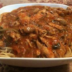 Homemade Chicken Cacciatore, Sicilian-Style