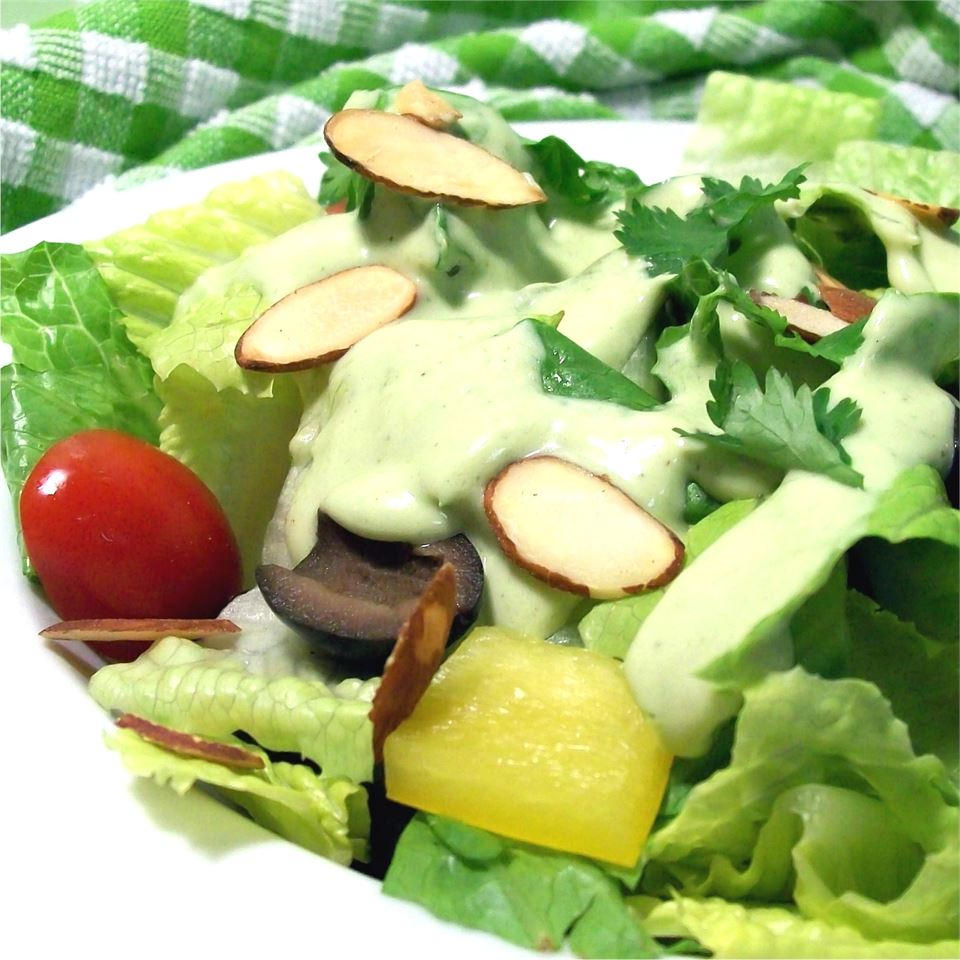 Avocado Green Goddess Dressing