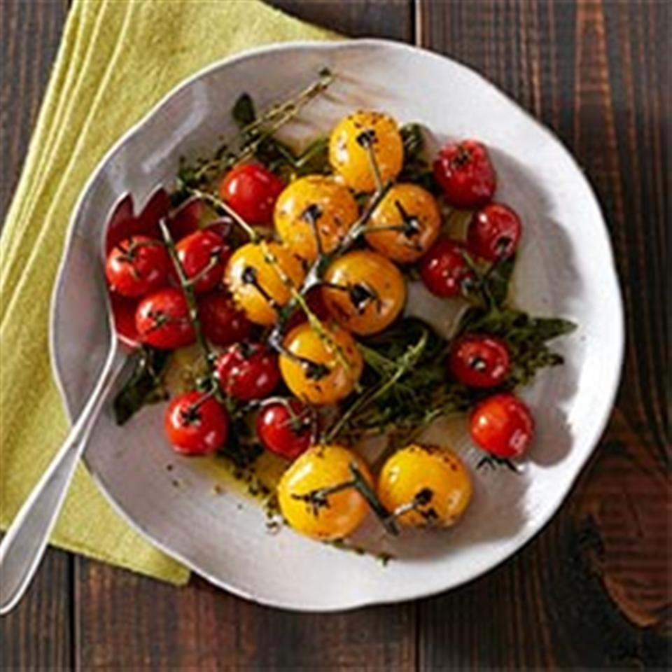 Blistered Tomatoes with Herbs Trusted Brands