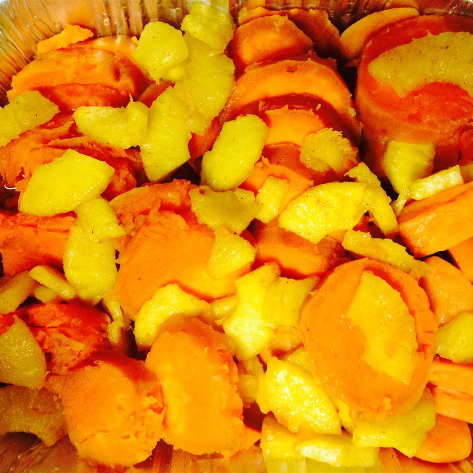 Pineapple Sweet Potatoes Beatriz