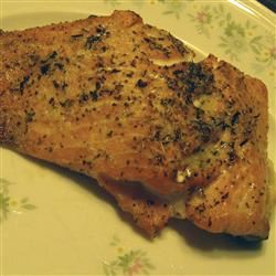 Grilled Salmon Steaks Italian-Style ChristineM