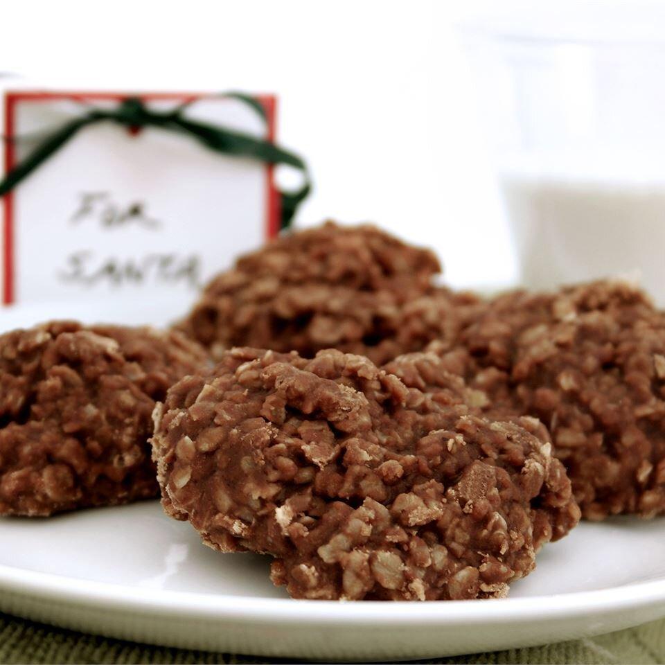 no bake cookies v recipe