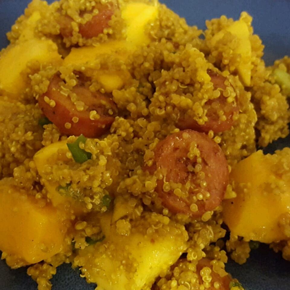 Curried Quinoa Salad with Mango Marissa