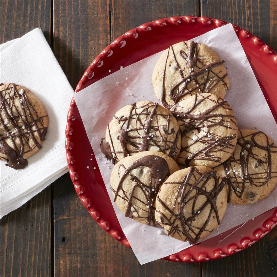 Salted Caramel Chocolate Chip Cookies from Reynolds® Parchment Paper