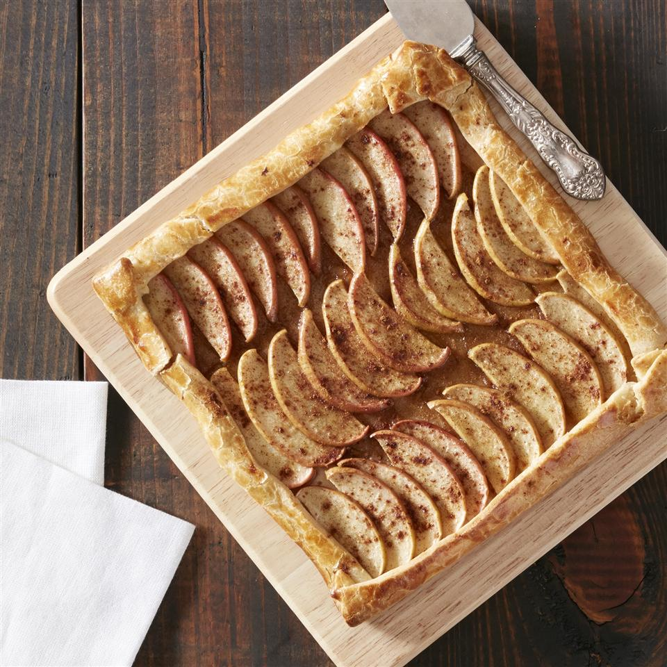 Browned Butter Apple Tart