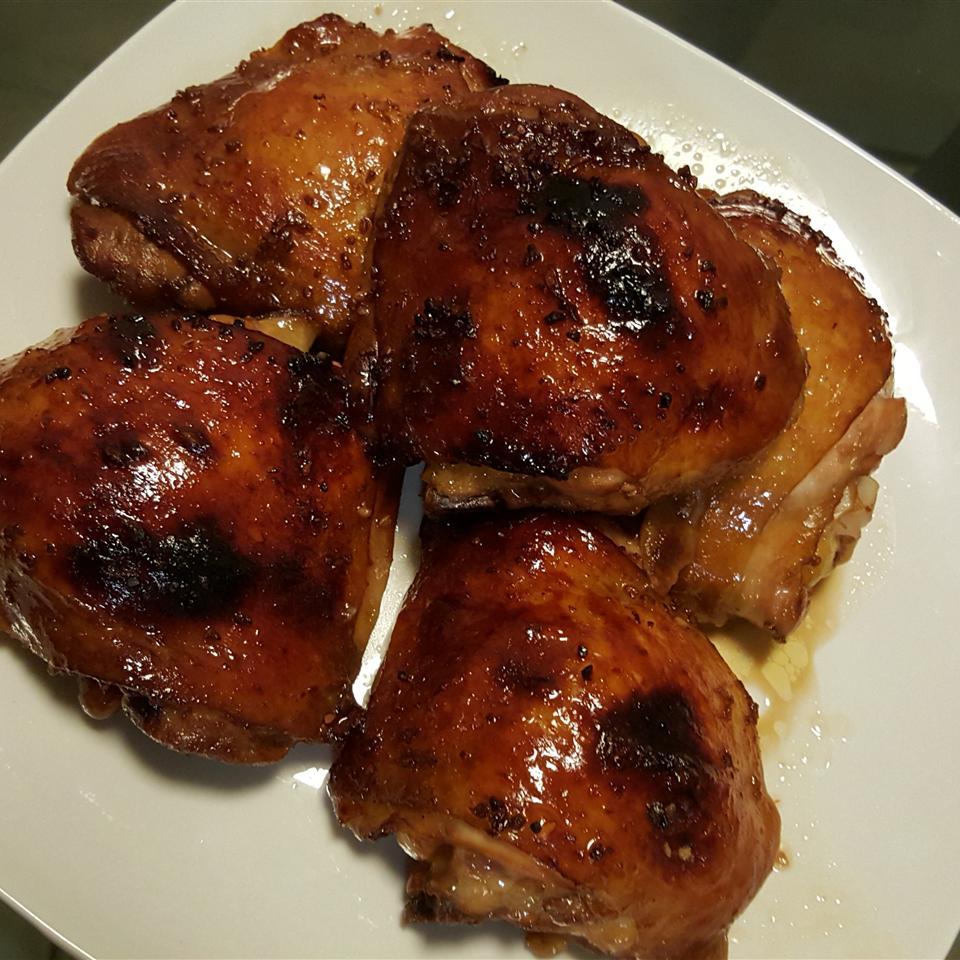 Asian Glazed Chicken Thighs
