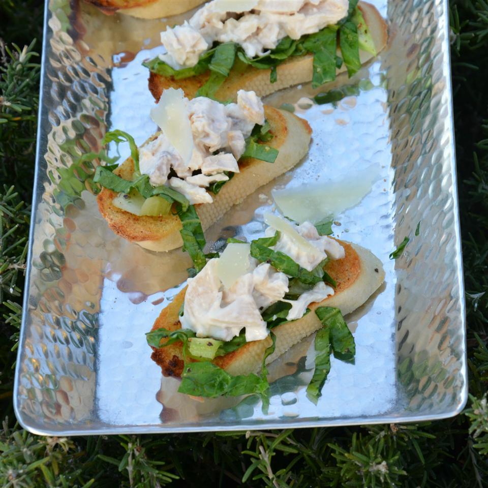 Chicken Caesar Toasts Ben S.