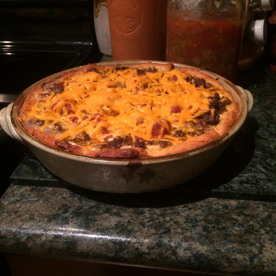 Easy Taco Pie Kimberely Dawn