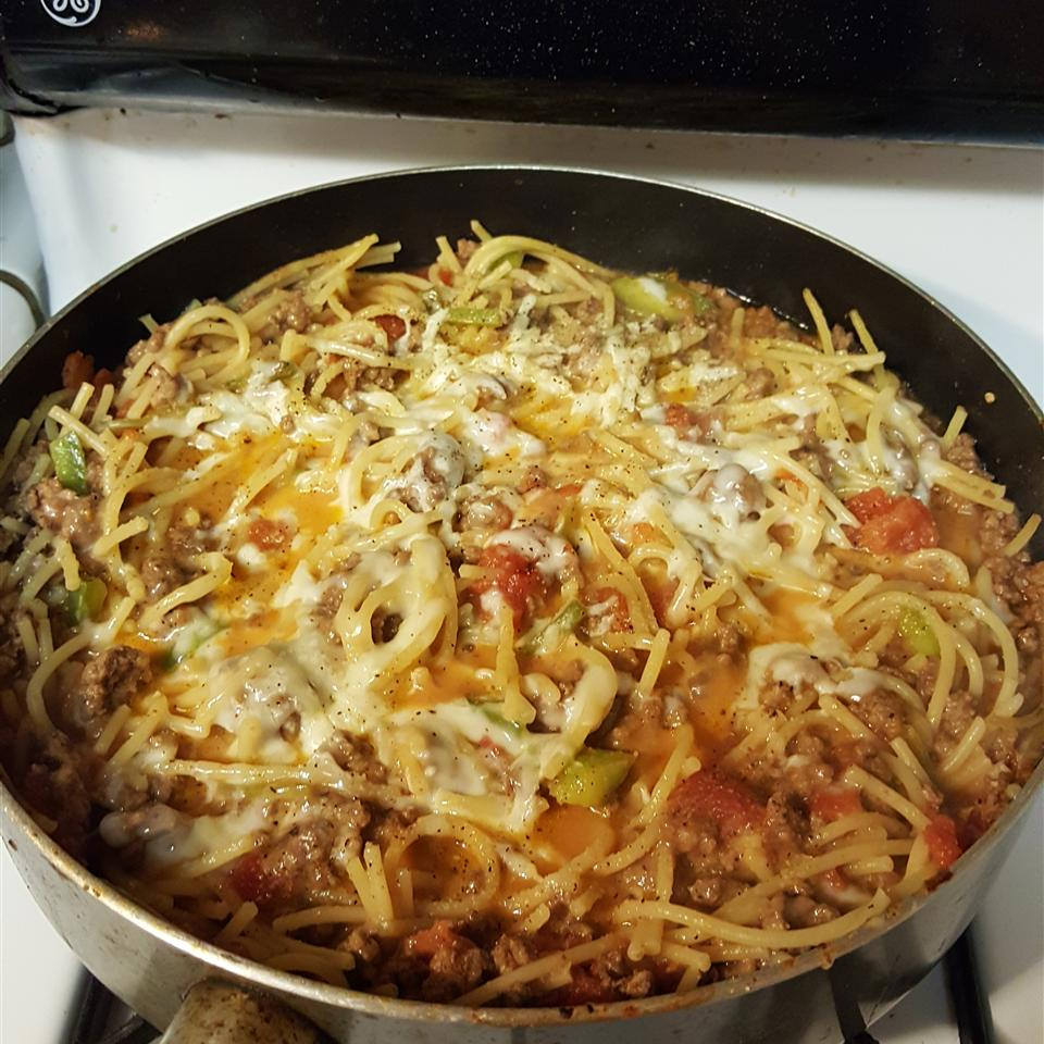 Spaghetti Skillet Dinner Jennifer Butler Agan