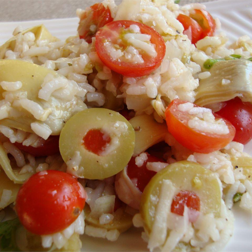 Tracy's Tomato Artichoke Rice Salad