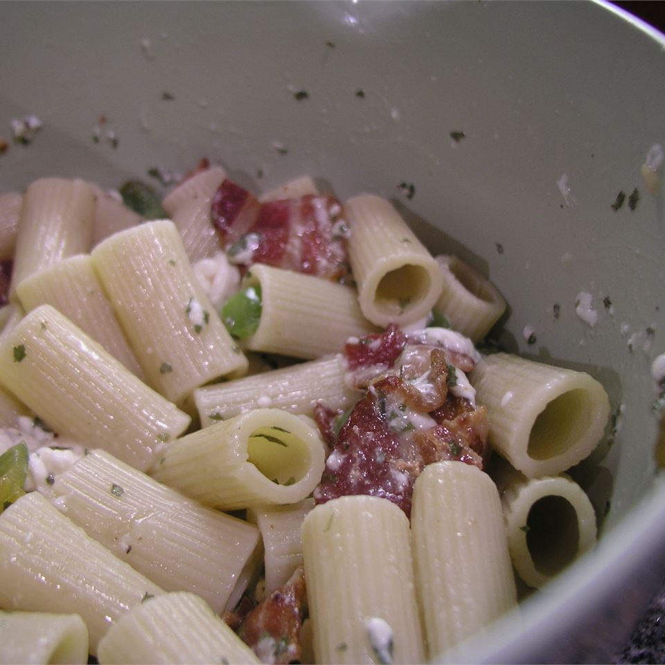 Country Pasta with Mozzarella