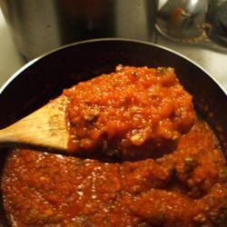 Homemade Tomato Sauce I