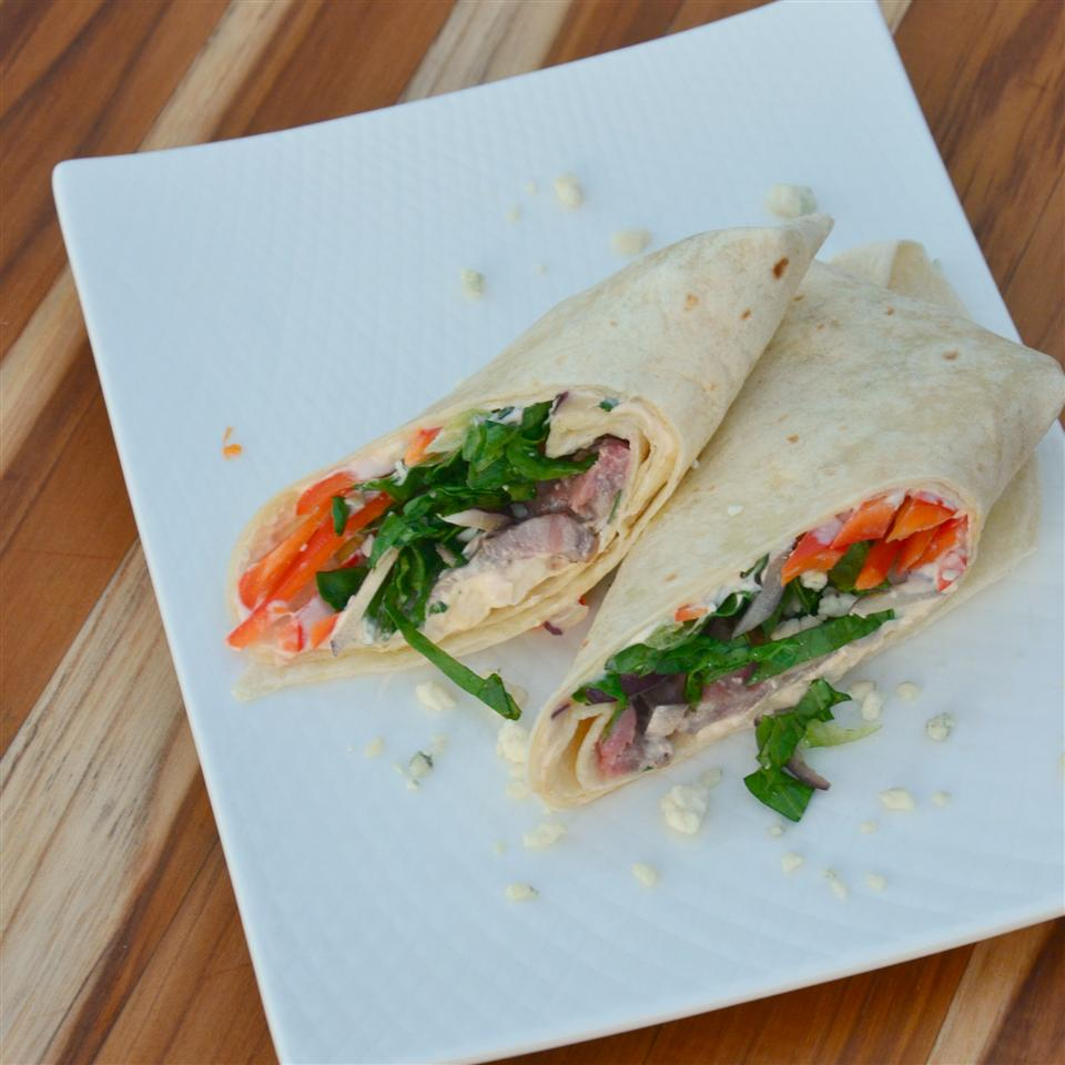 Beef and Blue Cheese Wrap