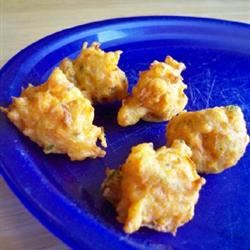 Delectable Carrot Fritters jelly