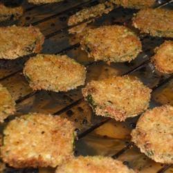 Quick Baked Zucchini Chips Raquel Teixeira