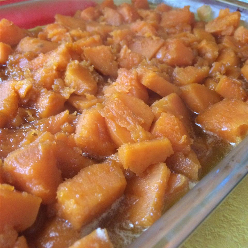 Brandied Candied Sweet Potatoes with Brown Sugar Schaar