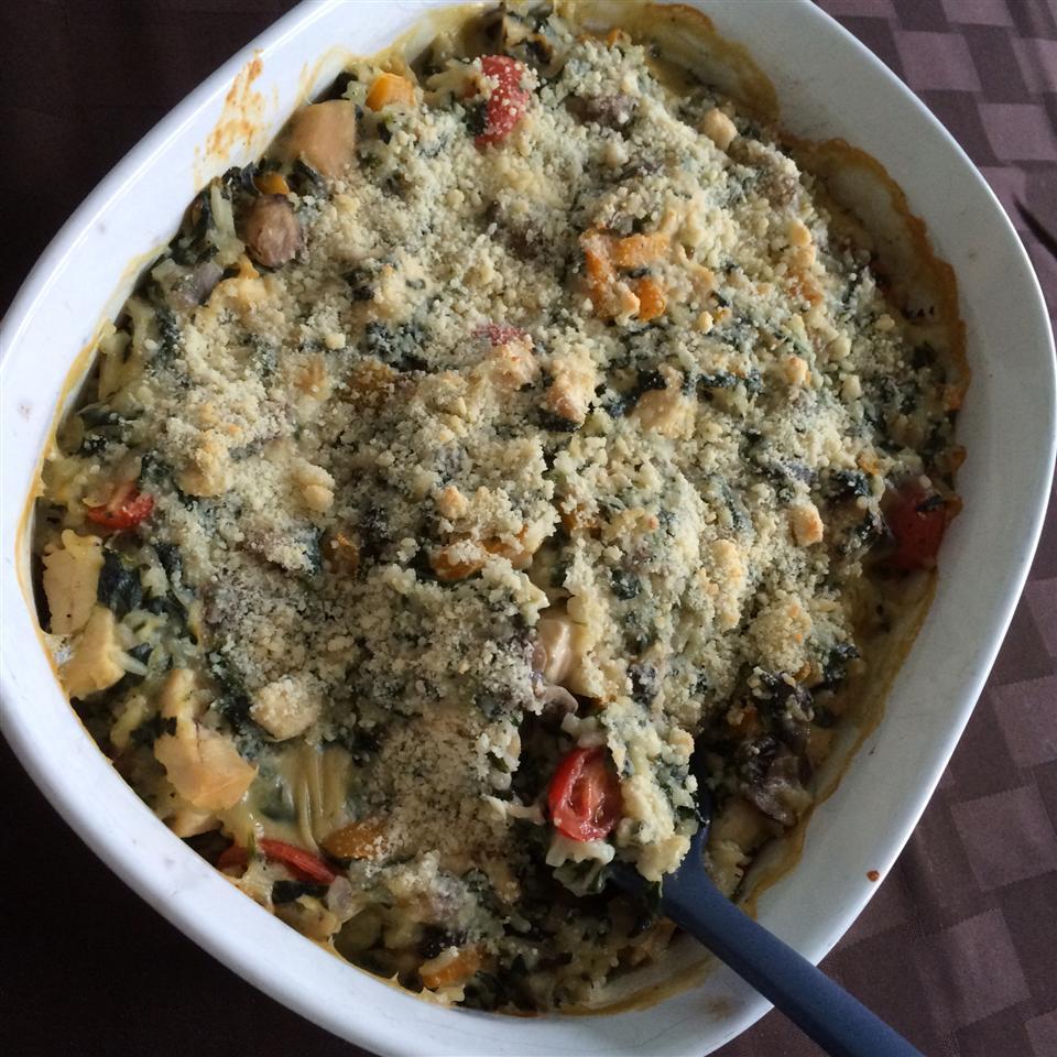 Creamy Chicken-Vegetable Casserole