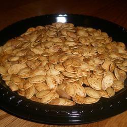 Spicy Roasted Pumpkin Seeds Sarah Keller