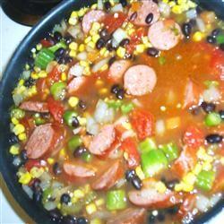Sassy Sausage and Black Bean Soup Mystique822