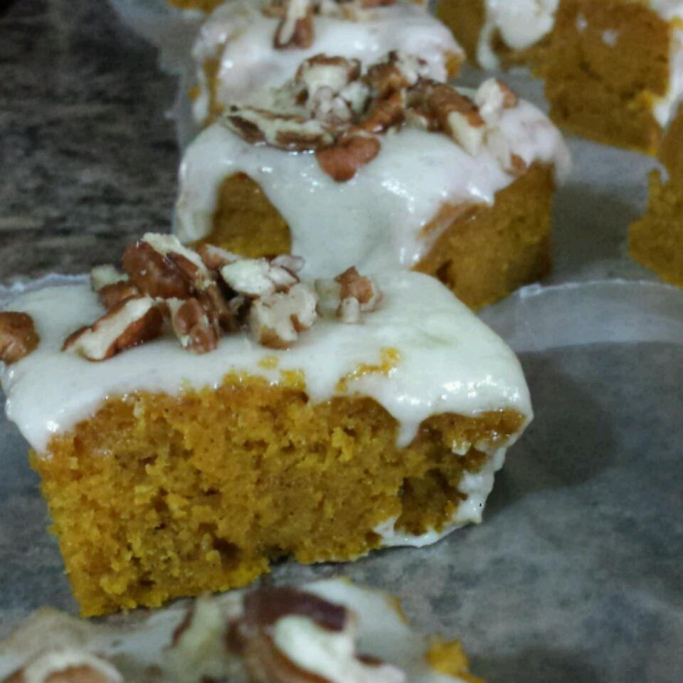 Paul's Pumpkin Bars
