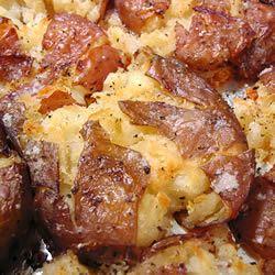 Easy Spicy Roasted Potatoes foodaholic