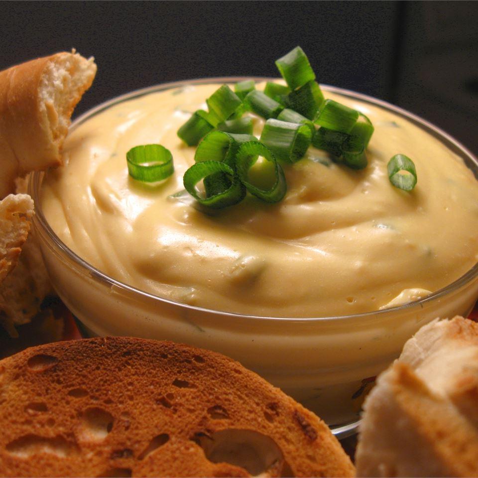 Cheesy Green Onion Bagel Dip Kristina Roth Anderson