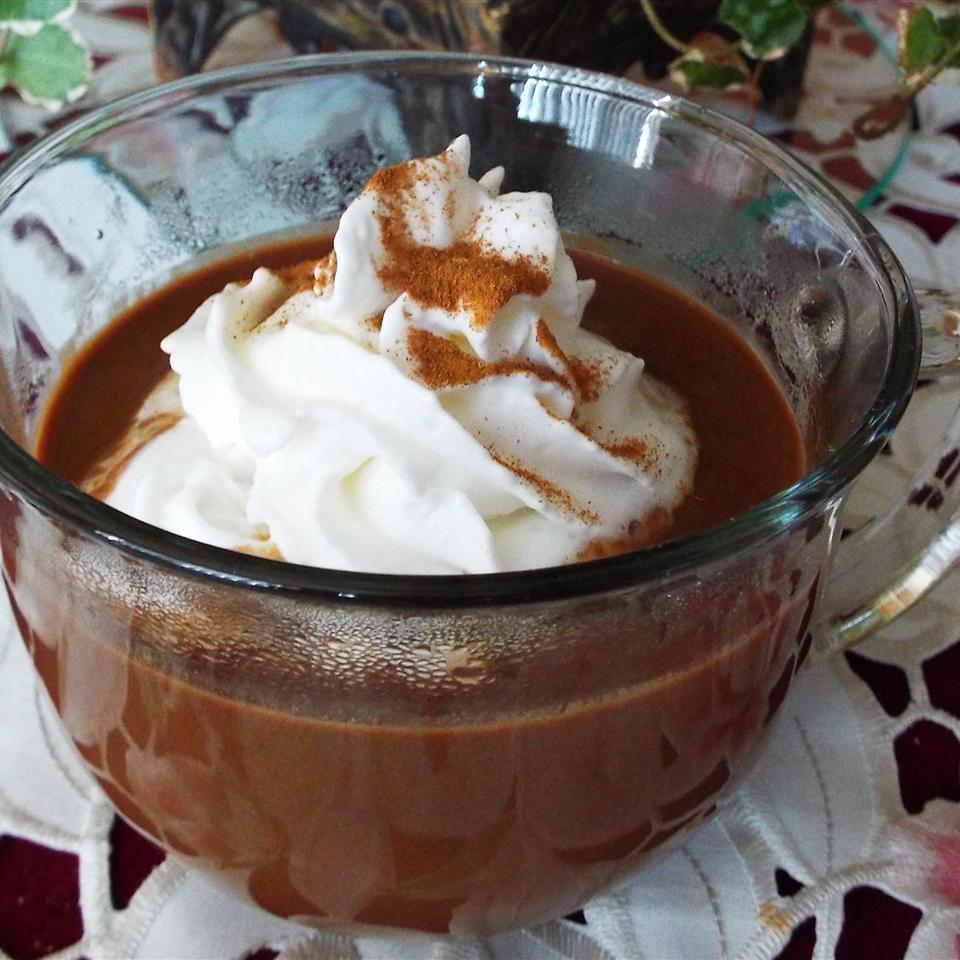 Pumpkin Spice Hot Chocolate Yoly
