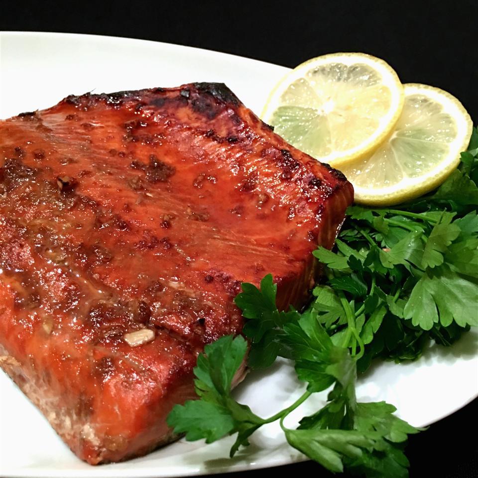 Sesame Grilled Salmon Happyschmoopies