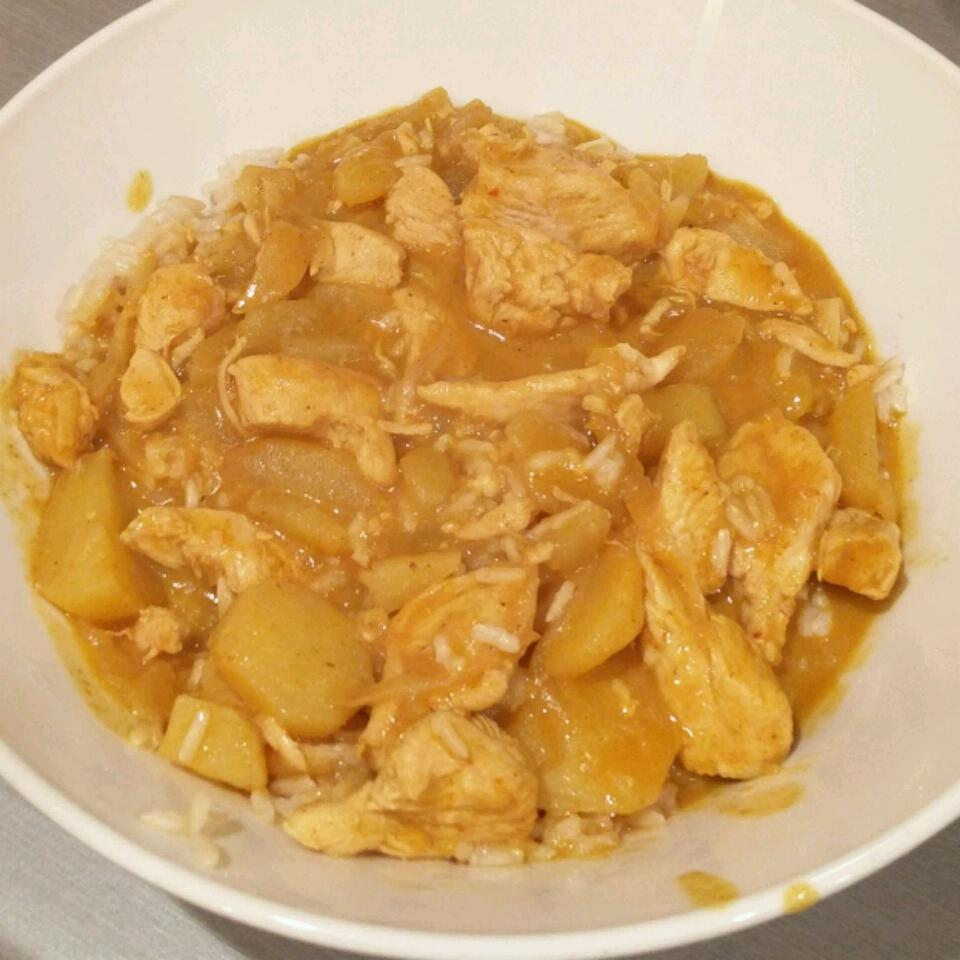 Adriel's Chinese Curry Chicken