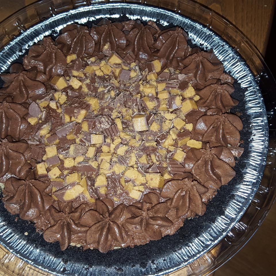 Double Layer Chocolate Peanut Butter Pie