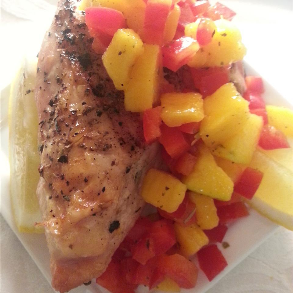 Chef John's Salmon Mango Bango Liz Dalton 'Lizzie'