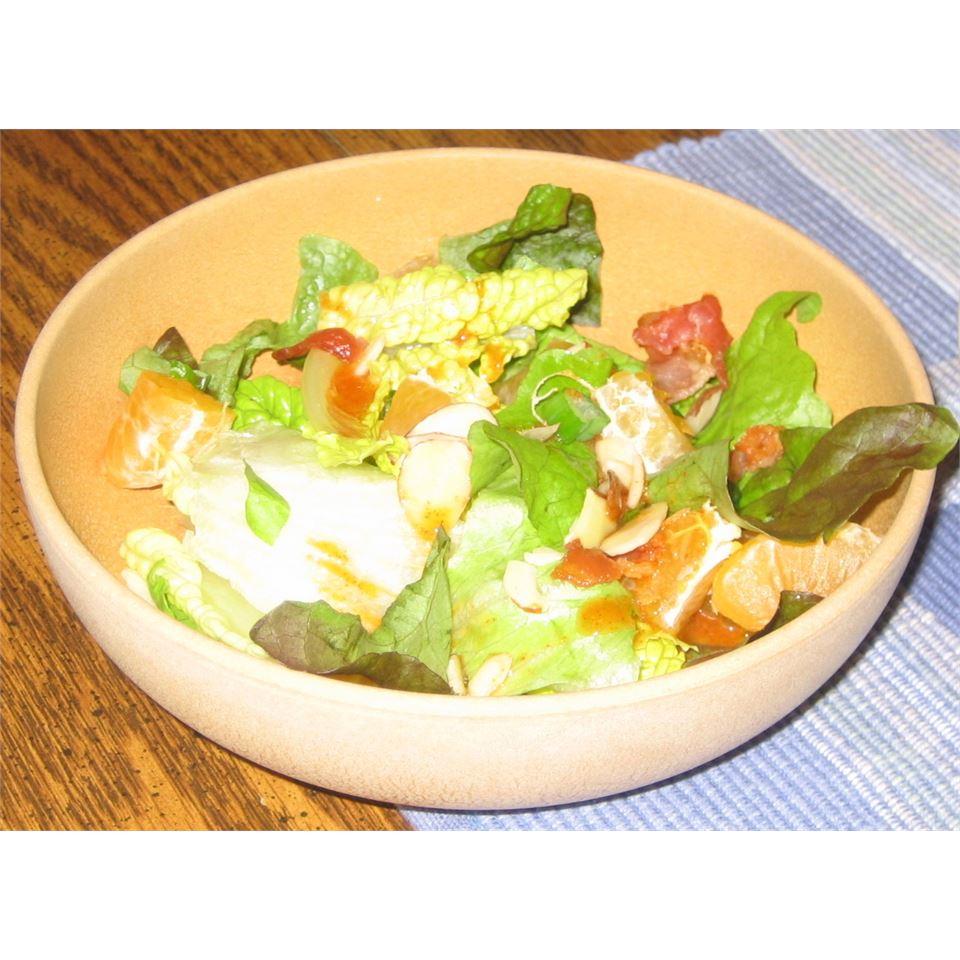 Almond Mandarin Salad Elisa Sue